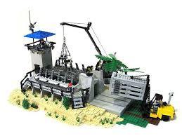 Raptor Cage Lego Jurassic Park Lego Dinosaur Lego Jurassic World