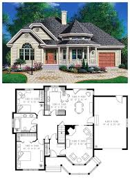 victorian style house plan 65094 with 2