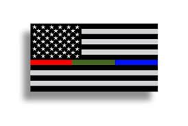 Police Military And Fire Thin Line Usa F Buy Online In Georgia At Desertcart