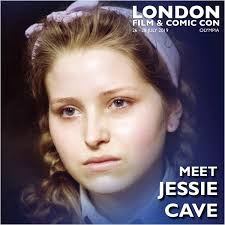 JESSIE CAVE is joining us at London Film... - London Film & Comic ...