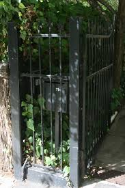 Modern Design Speared Steel Fence With Metal Letterbox Attached Gate Automation Adelaide