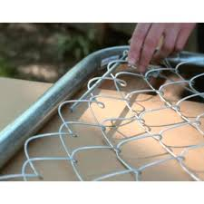 Everbilt 6 Ft W X 4 Ft H Metal Expandable Galvanized Chain Link Fence Gate Kit 3283adj48eb The Home Depot