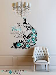 Pin By Kaitlyn Cunningham On Photos Peacock Wall Art Peacock Painting Wall Painting Decor