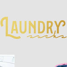 Laundry Wall Decals Wayfair