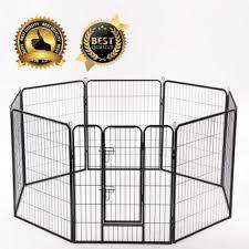 Bestpet 40 Inch Heavy Duty 8 Panel Folding Metal Pet Playpen Dog Exercise Fence Sold By Factory Direct Rakuten Com Shop