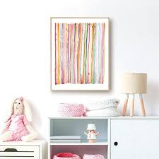 Ful Art Prints Abstract Wall Art Canvas Poster Kids Room Decor Pink Art Canvas Painting Picture Nursery Wall Decoration From Zhu793737893 6 69 Dhgate Com