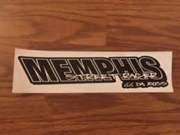 Memphis Street Racer Decal Memphis Street Racer