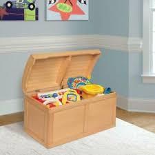 Kids Toy Box Chest Organizer Storage Furniture Play Room Natural Wood Gift New Ebay