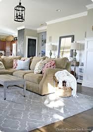 family room reveal tan living room