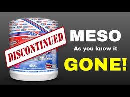 dmaa mesomorph discontinued
