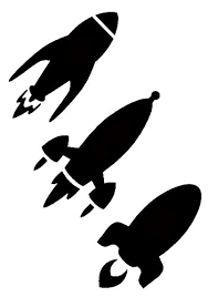 Rocket Ship Stencil Kids A4 Size Wall Childrens Room Art St26 Buy Online In Fiji Wall Stencil Designs Products In Fiji See Prices Reviews And Free Delivery Over 200 Fj Desertcart