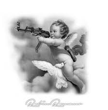 cherub+AK47 by Robin Romano - Inkbay