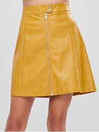 24 off 2020 a line faux leather skirt
