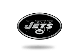 New York Ny Jets Logo Official Nfl Molded Self Adhesive Auto Emblem For Sale Online