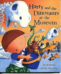 HARRY & THE DINOSAURS AT THE MUSEUM by Ian Whybrow & Adrian Reynolds PB |  eBay