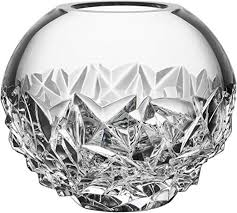 orrefors carat globe vase small clear