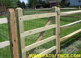 Ohio Fence Company Eads Fence Co Split Rail Gate Options Photo Gallery