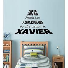 Decal Long Ago In A Galaxy Far Far Away A Young Jedi Was Born Custom Name 1 Wall Decal 20 X 31 Walmart Com Walmart Com