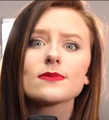 A weird picture of Audra Miller from the latest video : FirstToEleven