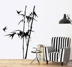 tree bamboo bird bedroom vinyl sticker