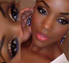 graduation makeup dark skin saubhaya