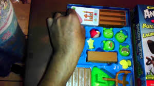 Angry birds knock on wood toy unboxing - YouTube