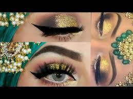 3d glitter makeup tutorial