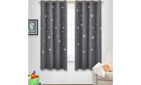 Star Curtains For Kids Room Starry Magic Night Groupon