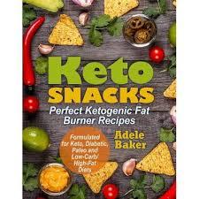 Keto Snacks - By Adele Baker (Paperback) : Target