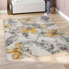 gray yellow brown area rug