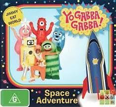 Yo Gabba Gabba: Space Adventure (DVD): Lance Robertson, Amos Watene, Adam  Deibert: Amazon.com.au: Movies & TV Shows