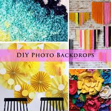 20 diy photo backdrop ideas design
