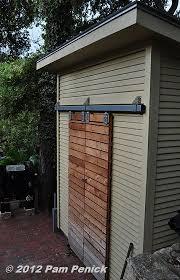shed door idea digging gardening
