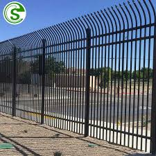 6ft X 8ft Front Yard Iron Picket Fence And Gate Designs Buy Backyard Iron Fence 8ft Iron Fence Design Picket Fence Gate Product On Alibaba Com