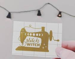 Sewing Decals Etsy