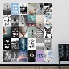 Wrought Studio Travel Collage Mural 30 Piece Wall Decal Set Reviews Wayfair
