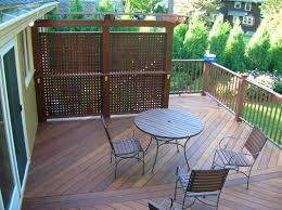 Privacy Deck With Pergola Time To Block Out The Crazy Neighbors Decks Backyard Backyard Patio