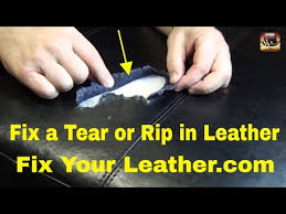 bycast or bonded leather repair large