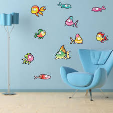 Cute Fish Ii Wall Decal Set Style And Apply
