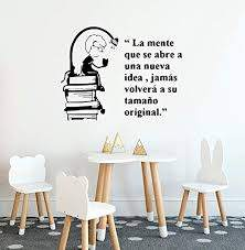 Amazon Com Spanish Quote For Large Nursery Little Boy Reading Book For Kids Rooms House Decorat Wall Decals Decor Vinyl Sticker Ir1003 Home Kitchen