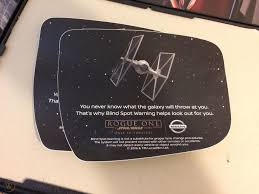 Star Wars Rogue One Nissan Rare Promotional Rearview Window Stickers Set Of 6 1885066667