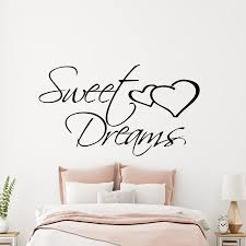 Sweet Dreams Wall Decals Quote Words Home Decor Living Room Bedroom Vinyl Stickers Wallpaper Kids Room Children Decal A040 Buy At The Price Of 4 97 In Aliexpress Com Imall Com
