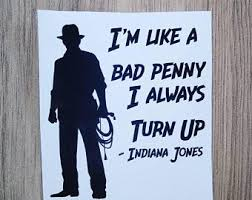 Indiana Jones Decal Etsy