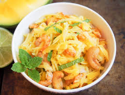 Cambodian green mango salad - Caroline ...