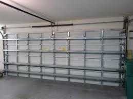 2 x 16 ft steel horizontal garage door