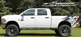 Chevy Custom Graphics Ram Trucks Ram Wave Bed Graphics Vinyl Decal Ford