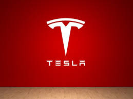 Tesla Multiple Color T Sign Logo Wall Decals Sticker Made From Etsy