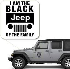 Amazon Com I Am The Black Off Road Of The Family Decal Sticker For Car Window Laptop And More 1111 8 X 6 3 Black Arts Crafts Sewing