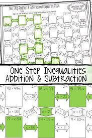 one step inequalities addition and