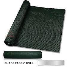 6 Or 8 Tall Shade Cloth Fabric Roll Fence Privacy Wind Screen Uv Block Garden Ebay